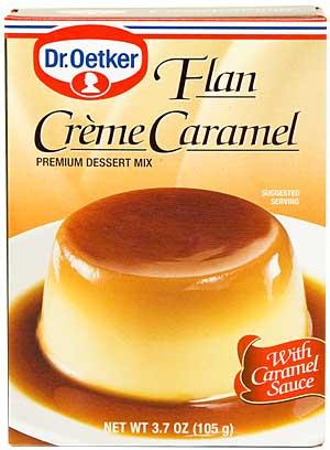 Bildresultat för creme caramel mix